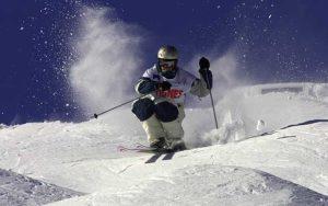 mogul-skier