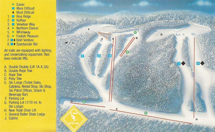 Skiing Virginia Map.Kentucky Skiing Snowboarding Ski Bum