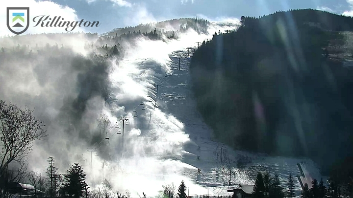 killington snow guns