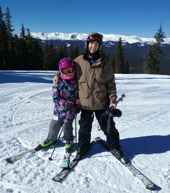 claire and rick beitel at ski cooper