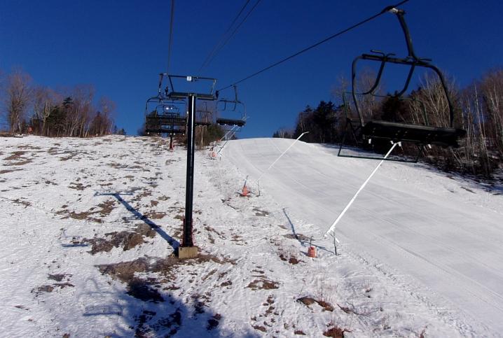 maple slalom and jackson standard trails at black mountain new hampshire