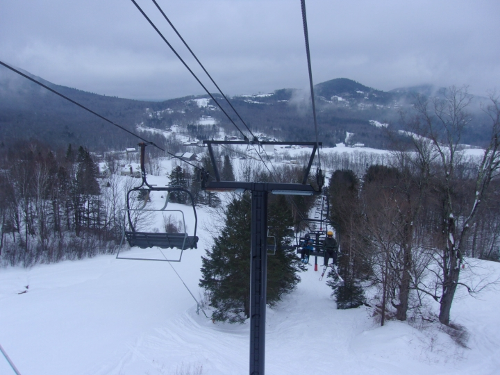 triple chair at black mountain new hampshire