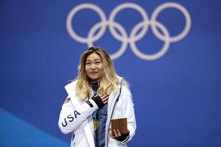 Chloe Kim went from Mountain High Resort to PyeongChang Gold