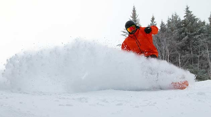 loon mountain serving up february powder