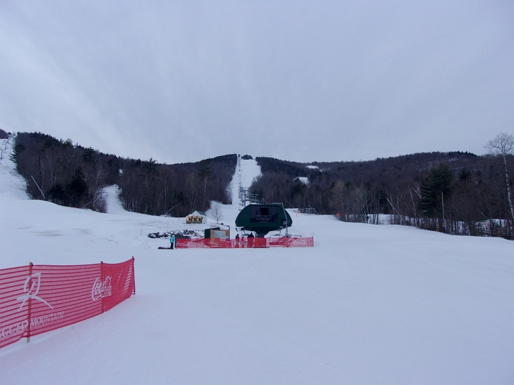 main chairlift at ragged mountain new hampshire