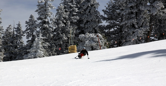 adaptive skiing at Mountain High in southern California
