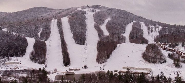 view of crotched mountain ski trails