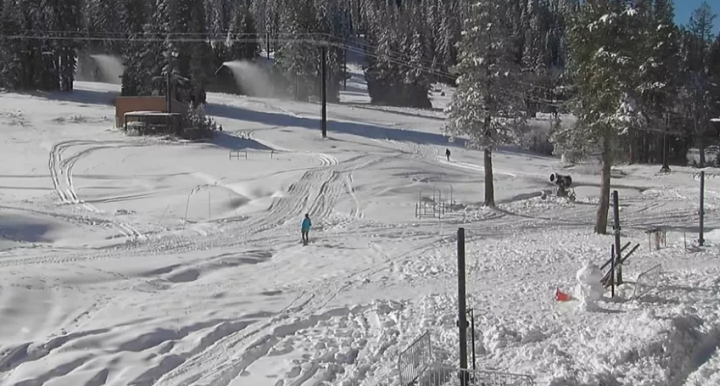 boreal ski resort wednesday morning november 8 2017