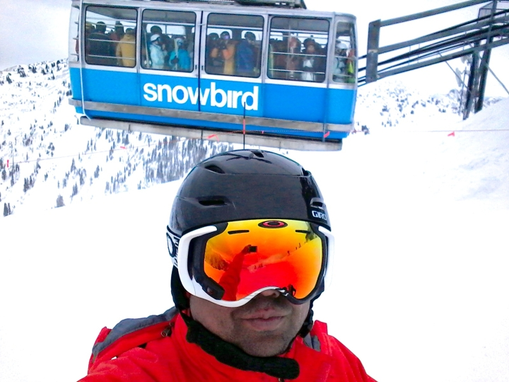 selfie of ron at snowbird february 2018