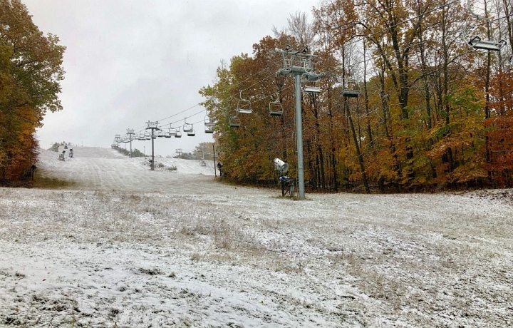 caberfae peaks october snow