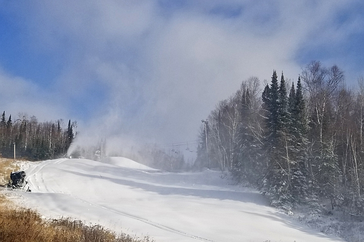 lutsen mountains snowmaking